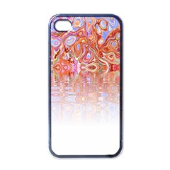 Effect Isolated Graphic Apple iPhone 4 Case (Black)