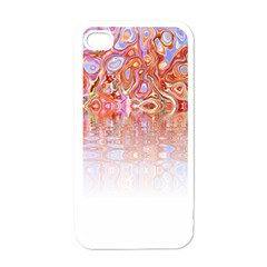 Effect Isolated Graphic Apple iPhone 4 Case (White)
