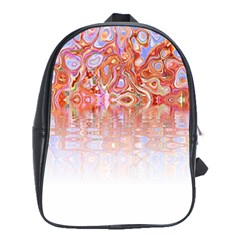 Effect Isolated Graphic School Bags (xl)