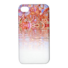 Effect Isolated Graphic Apple Iphone 4/4s Hardshell Case With Stand