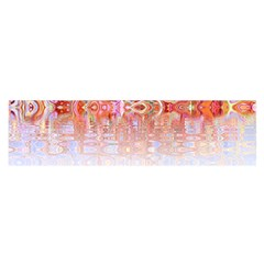 Effect Isolated Graphic Satin Scarf (oblong)