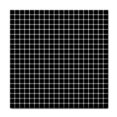 Black and white optical illusion dots and lines Face Towel