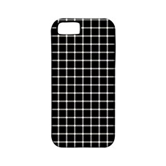 Black and white optical illusion dots and lines Apple iPhone 5 Classic Hardshell Case (PC+Silicone)