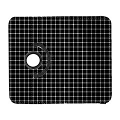 Black And White Optical Illusion Dots And Lines Galaxy S3 (flip/folio)