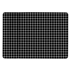 Black and white optical illusion dots and lines Samsung Galaxy Tab 10.1  P7500 Flip Case