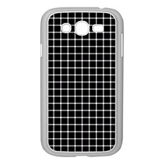 Black and white optical illusion dots and lines Samsung Galaxy Grand DUOS I9082 Case (White)