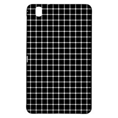 Black and white optical illusion dots and lines Samsung Galaxy Tab Pro 8.4 Hardshell Case