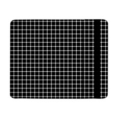 Black and white optical illusion dots and lines Samsung Galaxy Tab Pro 8.4  Flip Case