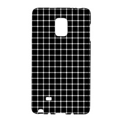 Black and white optical illusion dots and lines Galaxy Note Edge