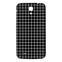 Black and white optical illusion dots and lines Samsung Galaxy Mega I9200 Hardshell Back Case