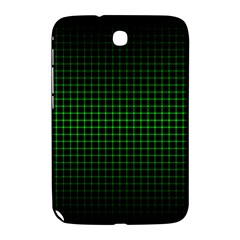 Optical Illusion Grid in Black and Neon Green Samsung Galaxy Note 8.0 N5100 Hardshell Case