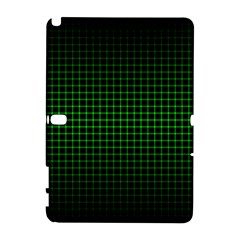 Optical Illusion Grid in Black and Neon Green Galaxy Note 1