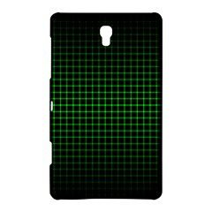 Optical Illusion Grid in Black and Neon Green Samsung Galaxy Tab S (8.4 ) Hardshell Case