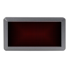 Optical Illusion Grid in Black and Red Memory Card Reader (Mini)