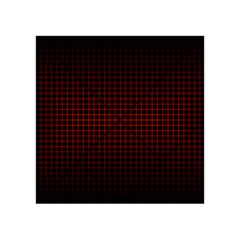 Optical Illusion Grid in Black and Red Acrylic Tangram Puzzle (4  x 4 )