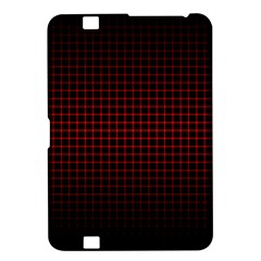 Optical Illusion Grid in Black and Red Kindle Fire HD 8.9