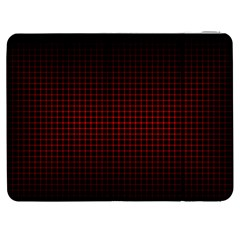 Optical Illusion Grid in Black and Red Samsung Galaxy Tab 7  P1000 Flip Case