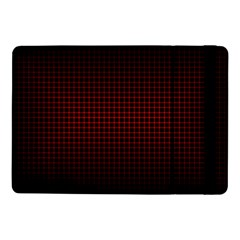 Optical Illusion Grid in Black and Red Samsung Galaxy Tab Pro 10.1  Flip Case