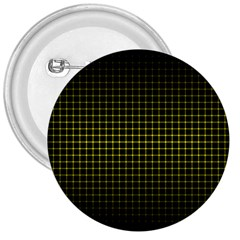 Optical Illusion Grid in Black and Yellow 3  Buttons