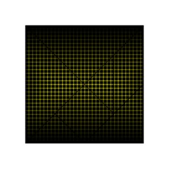 Optical Illusion Grid in Black and Yellow Acrylic Tangram Puzzle (4  x 4 )