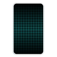 Optical Illusion Grid in Black and Neon Green Memory Card Reader