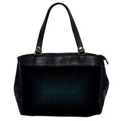 Optical Illusion Grid in Black and Neon Green Office Handbags