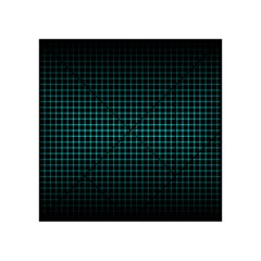 Optical Illusion Grid in Black and Neon Green Acrylic Tangram Puzzle (4  x 4 )