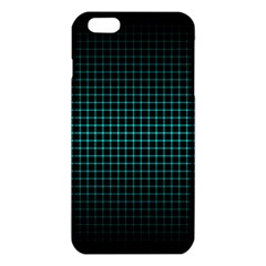 Optical Illusion Grid in Black and Neon Green iPhone 6 Plus/6S Plus TPU Case