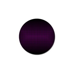 Optical Illusion Grid in Black and Neon Pink Golf Ball Marker (10 pack)