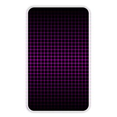 Optical Illusion Grid in Black and Neon Pink Memory Card Reader