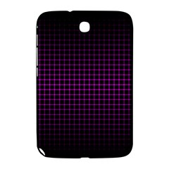 Optical Illusion Grid in Black and Neon Pink Samsung Galaxy Note 8.0 N5100 Hardshell Case