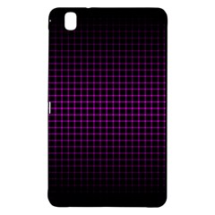 Optical Illusion Grid in Black and Neon Pink Samsung Galaxy Tab Pro 8.4 Hardshell Case