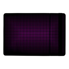 Optical Illusion Grid in Black and Neon Pink Samsung Galaxy Tab Pro 10.1  Flip Case