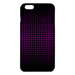 Optical Illusion Grid in Black and Neon Pink iPhone 6 Plus/6S Plus TPU Case
