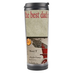 Happy Fathers Day Old Car Travel Tumbler