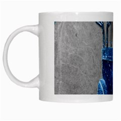 Happy Fathers Day Golf White Mugs