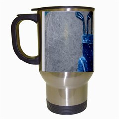 Happy Fathers Day Golf Travel Mugs (White)