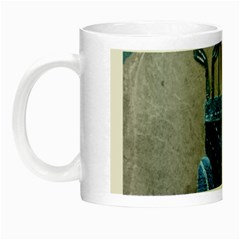 Happy Fathers Day Golf Night Luminous Mugs