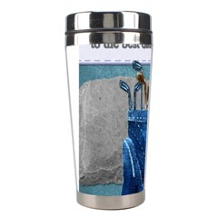 Happy Fathers Day Golf Stainless Steel Travel Tumblers