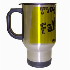 Fathers Day Post It Travel Mug (Silver Gray)