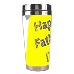 Fathers Day Post It Stainless Steel Travel Tumblers