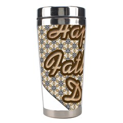 Fathers Day Heart Stainless Steel Travel Tumblers