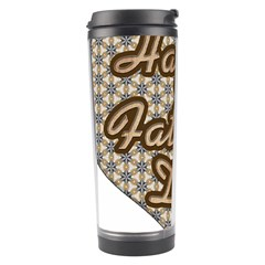Fathers Day Heart Travel Tumbler