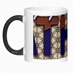 Fathers Day Blue Brown Morph Mugs