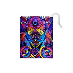 The Time Wielder Drawstring Pouch (Small)