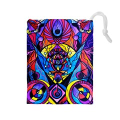 The Time Wielder   Drawstring Pouch (large)