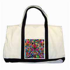 Positive Intention   Two Toned Tote Bag