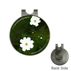 Daisies In Green Hat Clips with Golf Markers
