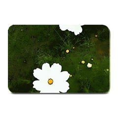 Daisies In Green Plate Mats