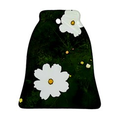 Daisies In Green Bell Ornament (Two Sides)